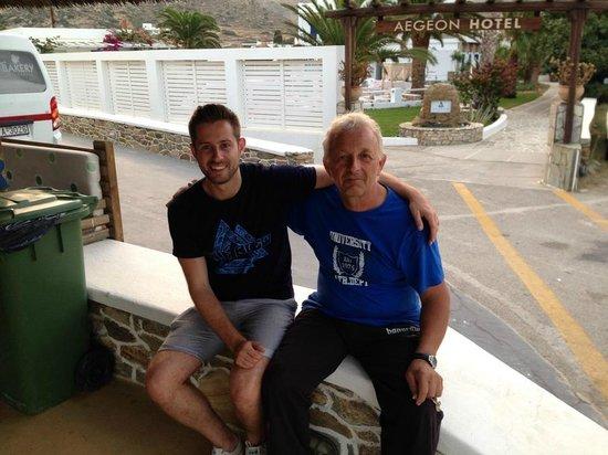 Aegeon Hotel : NIKOS!!!