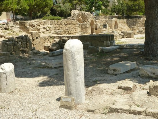 Saint Paul's Pillar : St Paul's Pillar Paphos