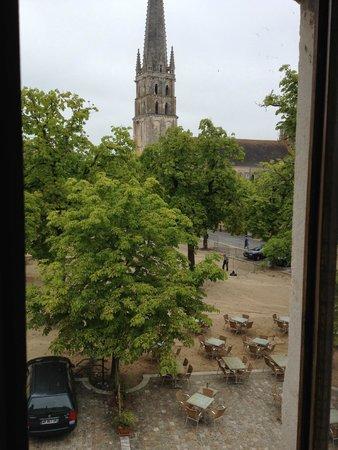 Hotel de l'Abbaye: La vue depuis la chambre