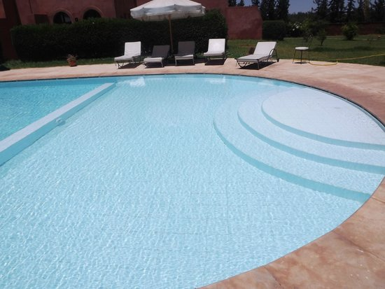 Le Domaine de L'Ourika: Shallow end of the pool