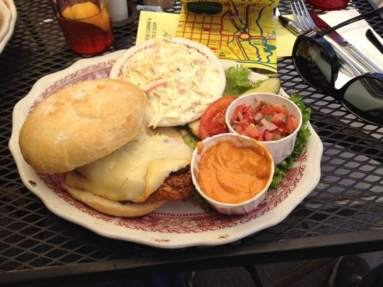 Little Annie's Eating House: Santa Fe grilled chicken sandwich