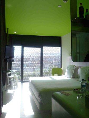 Barcelo Raval: chambre