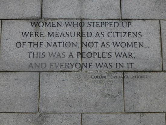 National World War II Memorial: Everyone means everyone