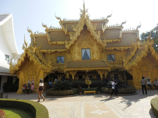 Wat Rong Khun : トイレ