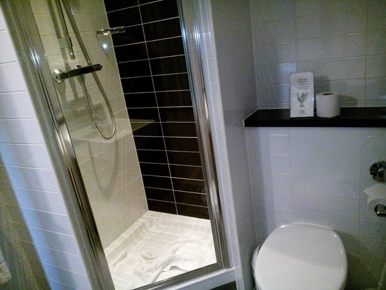 Comfort Inn and Suites King's Cross / St. Pancras: Baño