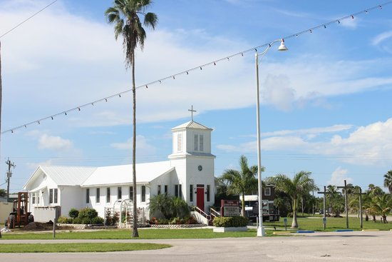 Museum of the Everglades: church