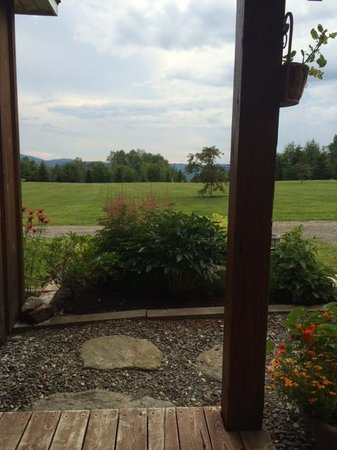 Sheady Acres Rental Cottages: View from the Sugar House