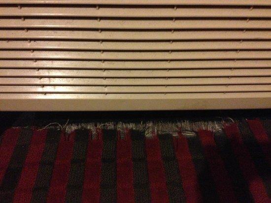 BridgePointe Inn & Suites: Ripped carpet