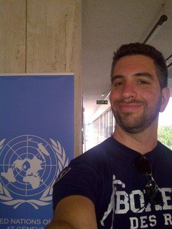 UNOG - Palais des Nations: entrata