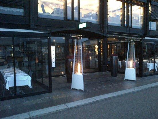 Lofoten Fiskerestaurant : Entrance restaurant