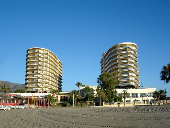 taken from beach left hotel picture of marconfort beach club hotel torremolinos tripadvisor. Black Bedroom Furniture Sets. Home Design Ideas