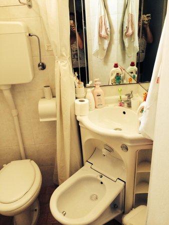 Hotel Nuovo Giardino: Bagno