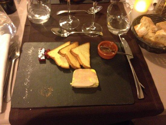 Le Chabada : Foie gras avec gelée et confiture