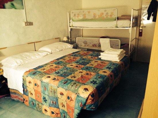 Hotel Nuovo Giardino: Camera