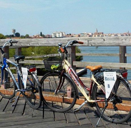 BEST WESTERN Hotel Bristol: bici