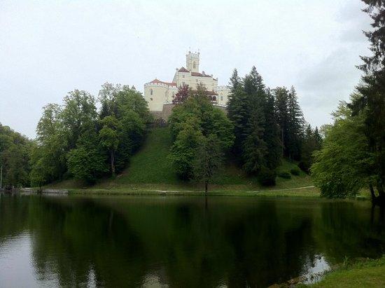 Trakoscan Castle (Dvor Trakoscan): Castelo