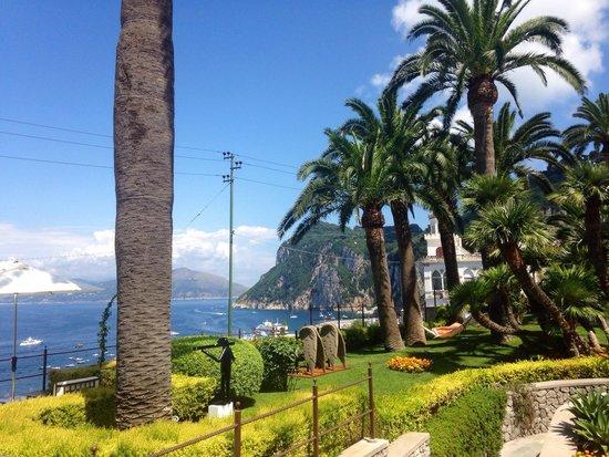 Villa Marina Capri Hotel & Spa: Arte, verde, mare, silenzio, colore, ordori, sapori, relax...