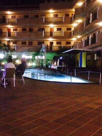 Elba Castillo San Jorge & Antigua Suite Hotel : Entertainment area
