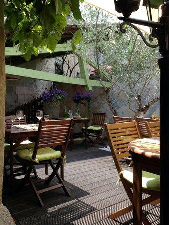 La Tapazzeria: La terrasse