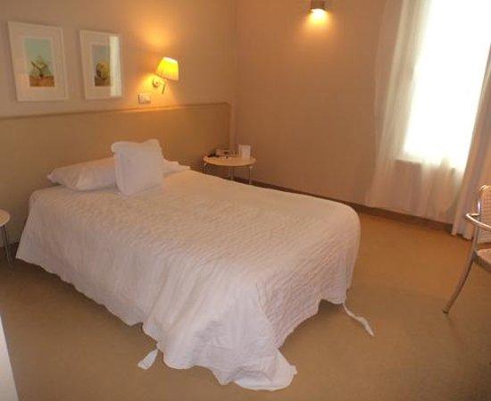 Cosmo Hotel Palace : La camera da letto, singola con letto francese