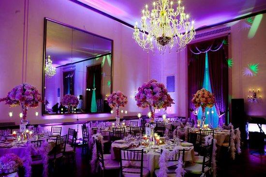 3 West Club: Grand Ballroom Wedding Set