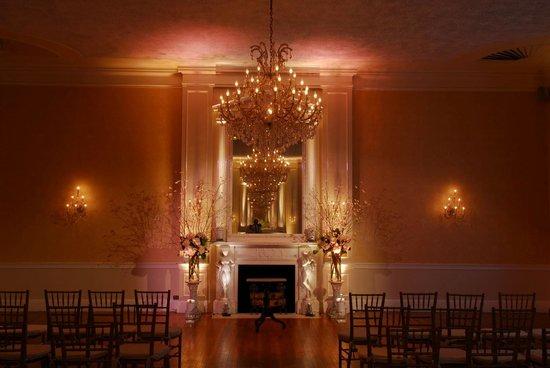 3 West Club: Grand Salon Ceremony Set Up