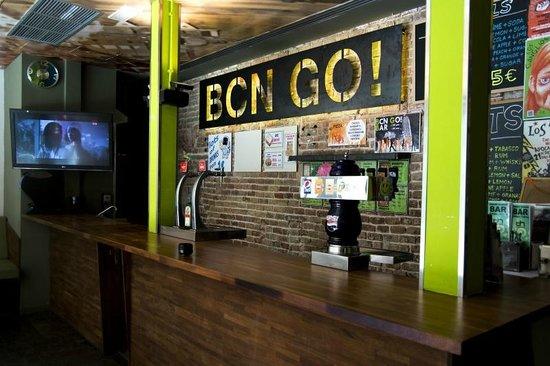 Urbany Hostel BCN GO! : Bar