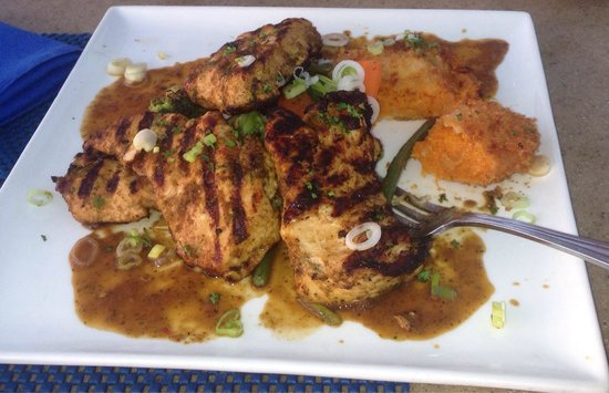 Seaside Cafe: Chicken with sweet potato