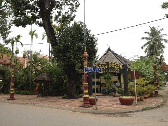 Bopha Siem Reap Boutique Hotel : Entrance
