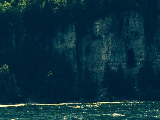 Fish Creek Scenic Boat Tours: Peninsula island.