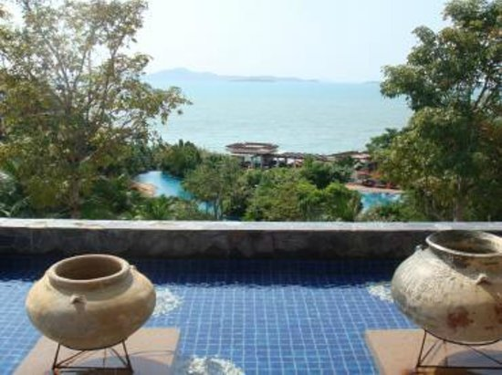 InterContinental Pattaya Resort : フロントからの景色