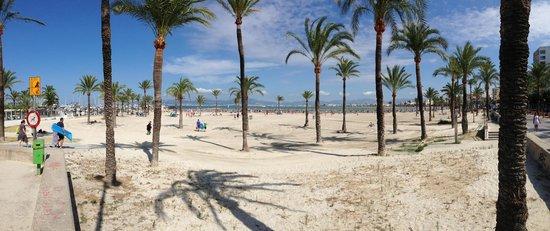 Playa de Palma, El Arenal : Playa de Atenal