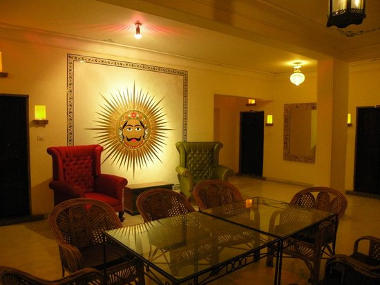 Hotel Udaigarh Udaipur: look outside the room