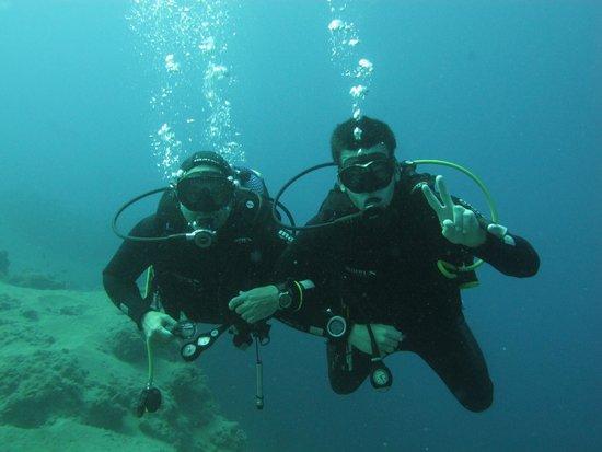 Atlantis Diving Lanzarote: Por fin buceando juntos