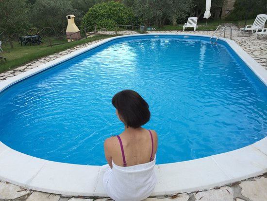Castel d'Arno: Pool