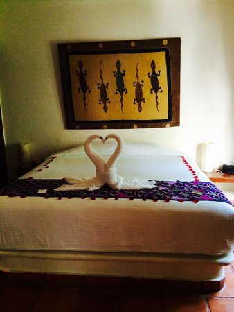 La Tortuga Hotel & Spa: Our room on arrival ❤️