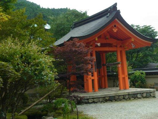 Tenkawa-mura, Japon : 朱色の鐘楼