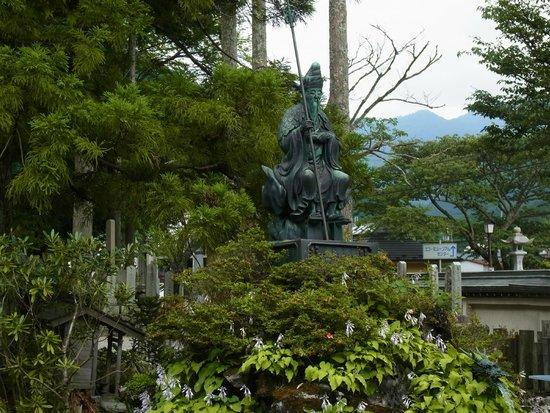 Tenkawa-mura, Japon : 役行者像