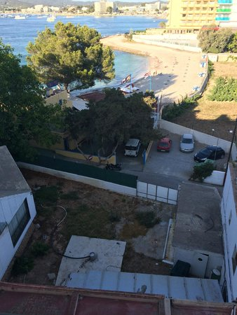 Hotel Club Els Pins: vue du balcon