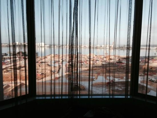 The New Esplanade Hotel: OUR View - construction below