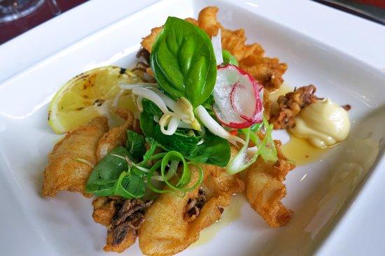 Racine Restaurant: Fried Chilli Salted Squid