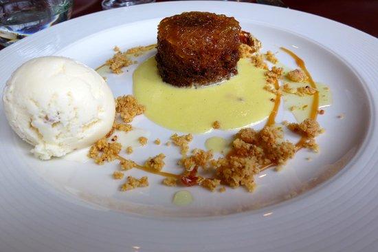 Racine Restaurant: Orange Malva Pudding