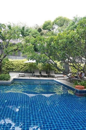 Woodlands Suites Serviced Residences: Pool view