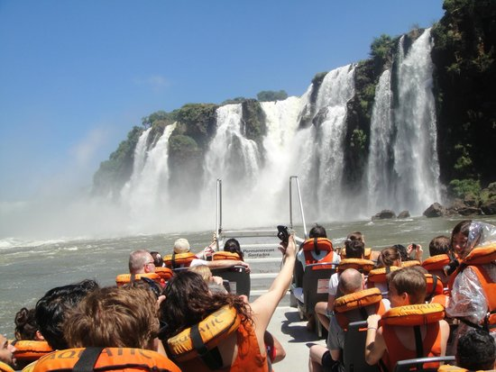 Cataratas del Iguazú: Cool to be a part of the falls
