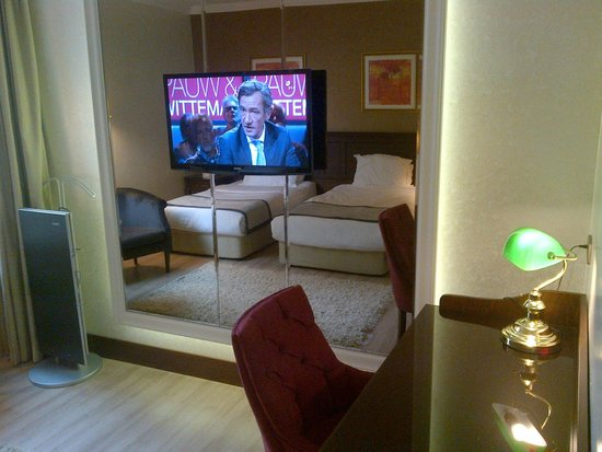 LaresPark Hotel: Room in mirror and flat screen