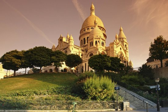 PARISCityVISION: Sacré Coeur in Montmartre