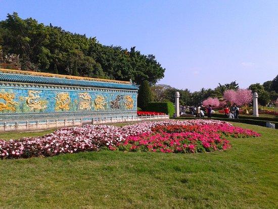 Splendid China Park: Des couleurs vivent et des fleurs par milliers