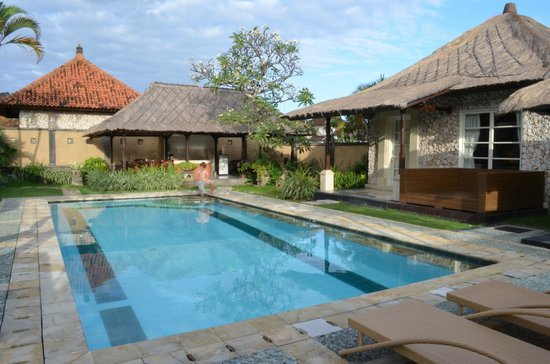 The Club Villas: view of pool from 3 bedroom villa