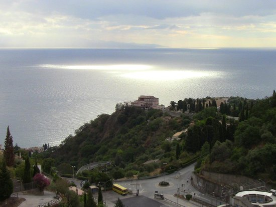 Hotel Condor: A View of the Mediterranean from the Breakfast Terrace
