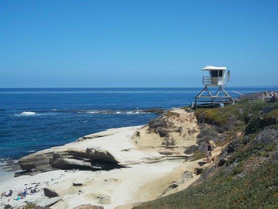 La Jolla Cove: Seaside vista